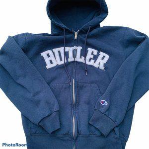 Butler University Champion zip hoodie sweatshirt